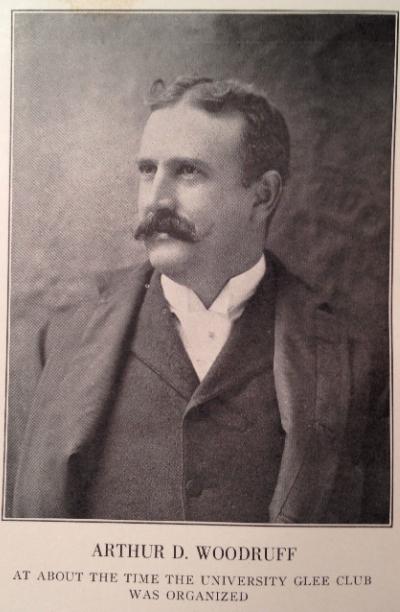Arthur D. Woodruff, about 1894